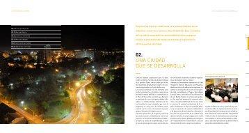 02. UNA CIUDAD qUE SE DESArrOLLA - Santa Fe Ciudad