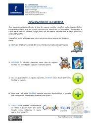 Localización - PROYECTO EMPRESARIAL 2.0 - IES Consaburum ...