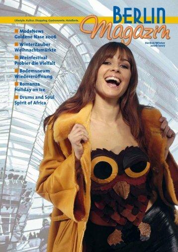 17. BERLINER MÄRCHENTAGE - Das Berlinmagazin
