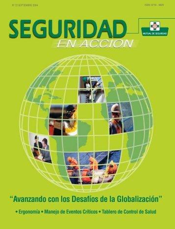 Avanzando con los desfíos de la globalización - Mutual de Seguridad