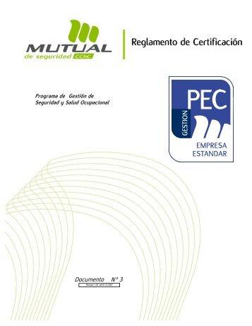 PEC-Estandar - Mutual de Seguridad