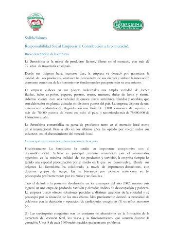 solidarisimos - Consejo Empresario Argentino para el Desarrollo ...