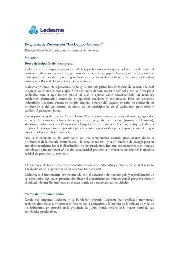 Un Equipo Ganador - Consejo Empresario Argentino para el ...
