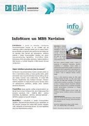 InfoStore un MBS Navision