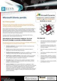 Microsoft klientu portāls