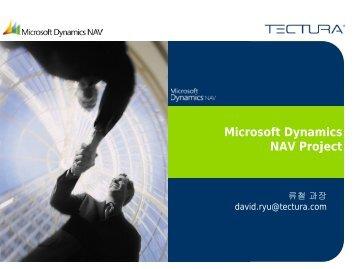 Microsoft Dynamics NAV Project - 텍투라코리아