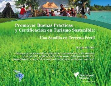 El turismo sostenible - Mapeo de Promotores de RSE