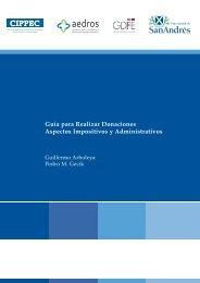 Guía para Realizar Donaciones (2008) - Universidad de San Andrés