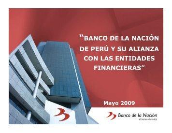 El Banco de la Nación, Perú - precesam