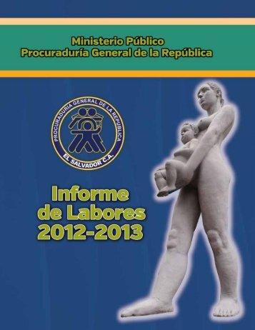 MemoriaLaboresPGR-Pe.. - Procuraduría General de la República ...