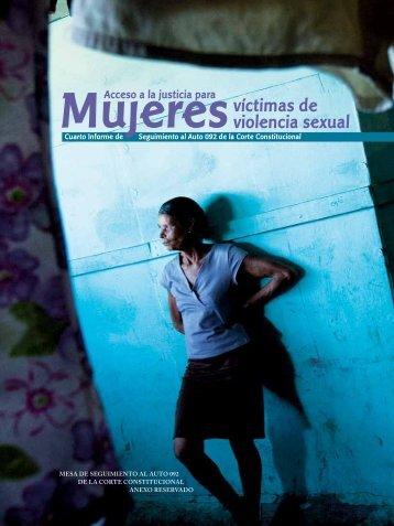 Acceso a la justicia para mujeres víctimas de violencia sexual