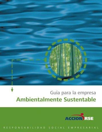 Guía para la Empresa Ambientalmente Sustentable.pdf - Mapeo de ...