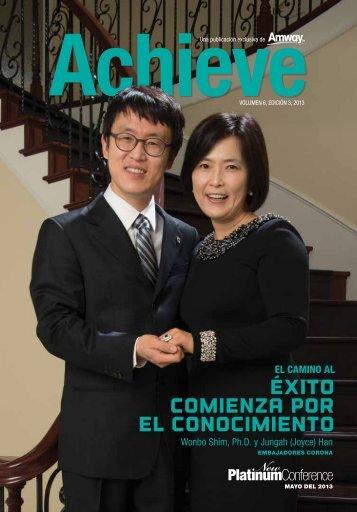 Éxito Comienza por el Conocimiento - Amway Achieve Magazine