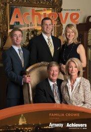 FAMILIA CROWE - Amway Achieve Magazine