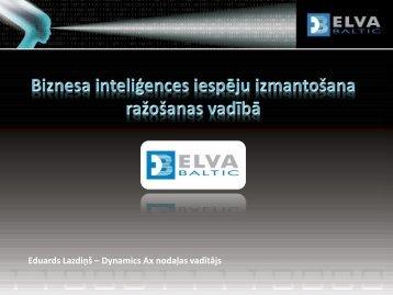 Eduards Lazdiņš – Dynamics Ax nodaļas vadītājs