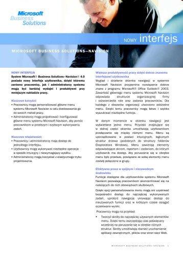 MBS Partners_Navision_NowyInterfejs - MBS Partners Polska Sp. z ...