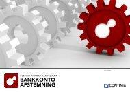 Continia Bankkontoafstemning produktblad.pdf - skanderby.dk