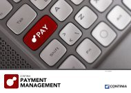 PAYMENT MANAGEMENT - Continia