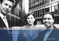 Public Administration - LLP Group