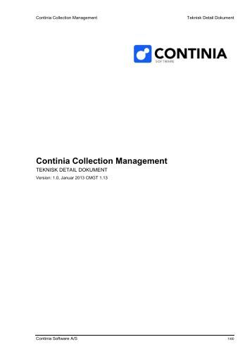 Collection Management til C5 - Continia