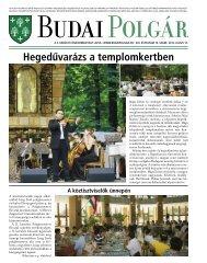 Hegedűvarázs a templomkertben - Budai Polgár