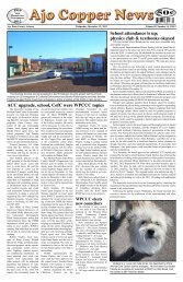 December 12, 2012 - Ajo Copper News