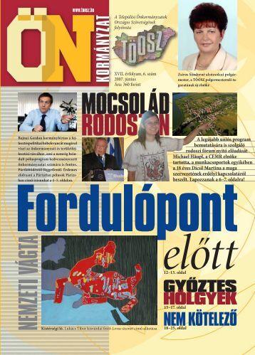 A legújabb uniós program bemutatására is szolgáló rodoszi ... - Töosz