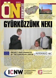 Templom a sérelmek üllőjén címmel a századik magyar ... - Töosz