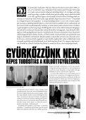 Templom a sérelmek üllőjén címmel a századik magyar ... - Töosz - Page 5