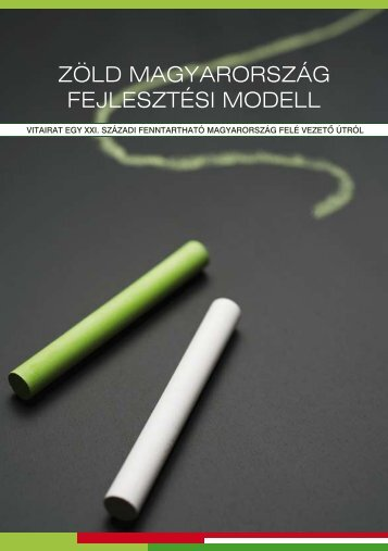 Innen letölthető a Zöld Magyarország Fejlesztési Modell