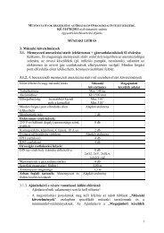 intenzív terápiás eszközök beszerzése - Országos Onkológiai Intézet