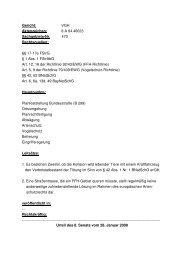 Urteil - Europäisches Naturschutzrecht - Natura 2000