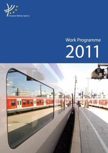 Work Programme 2011 - ERA - Europa