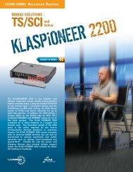 KlasPioneer 2200 Brochure - Tampa Microwave