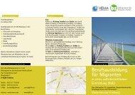Berufsausbildung für Migranten - Bildungszentrum des Hessischen ...