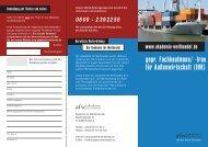 gepr. Fachkaufmann/ -frau für Außenwirtschaft (IHK)