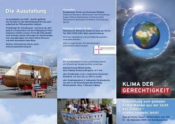 GERECHTIGKEIT KLIMA DER - Klimaoffensive Wolfhagen