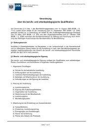 Rechtsverordnung Ausbilder/-innen Eignungsprüfung