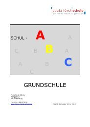 C - Paula Fürst Schule