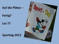Sporttag: Auf die Plätze – Fertig? Loooos - Paula Fürst Schule