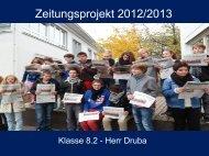 BZ-Projekt 2012/2013 - Paula Fürst Schule