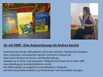 Autorenlesung - Paula Fürst Schule