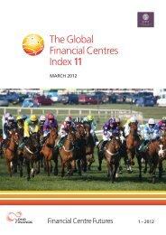Global Financial Centres Index - Z/Yen