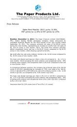 Press Release - October 2011 - ppl