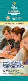 Programa de las Jornadas - Facultad de Ciencias Económicas y ...
