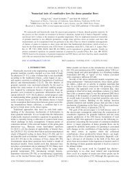 Numerical tests of constitutive laws for dense granular flows