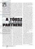 Az élhető település a címe a 14–18. oldalon közölt, ama ... - Töosz - Page 4