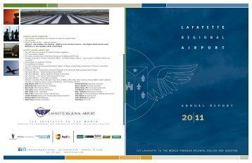 LFT 2011 Annual Report - Lafayette Regional Airport