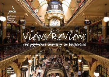 Annual Review - Australian Payments Clearing Association
