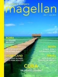 Revista de viajes Magellan - Julio 2015